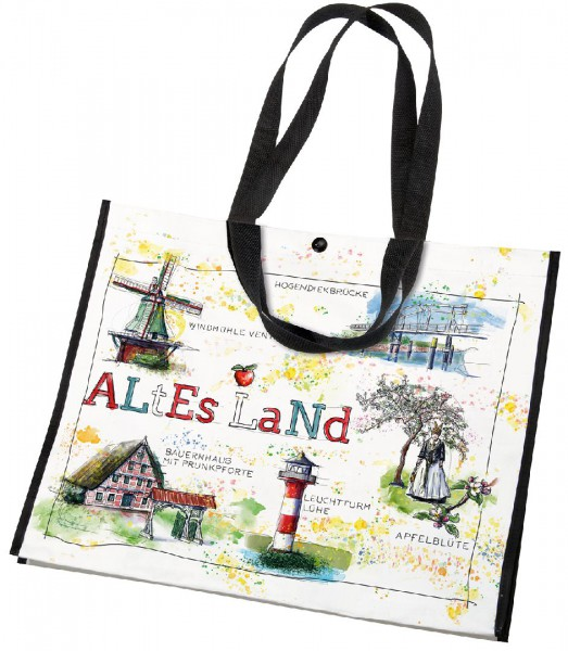 Shopper Altes Land | Shopping Bag | Tragetasche